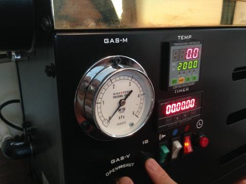ディスカバリー焙煎機の写真3