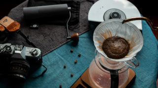 アウトドアコーヒー・キャンプコーヒー・ハンドドリップ